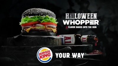 "BURGER KING ""Halloween Whopper"" - Trevor Shepard"