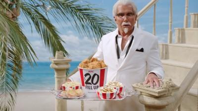 """KFC """"Crispy Colonel"""" - Trevor Shepard"""