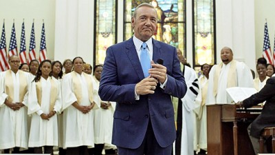 """HOUSE OF CARDS (Season 4 """"Chapter 42"""") - Robin Wright"""