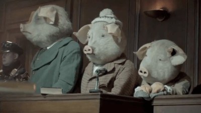 "THE GUARDIAN ""Three Little Pigs"" - Ringan Ledwidge"