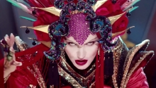 "DAPHNE GUINNESS ""Evening In Space"" - David LaChapelle"